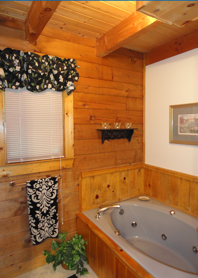 treehouse master bath - Treehouse Masters Interior